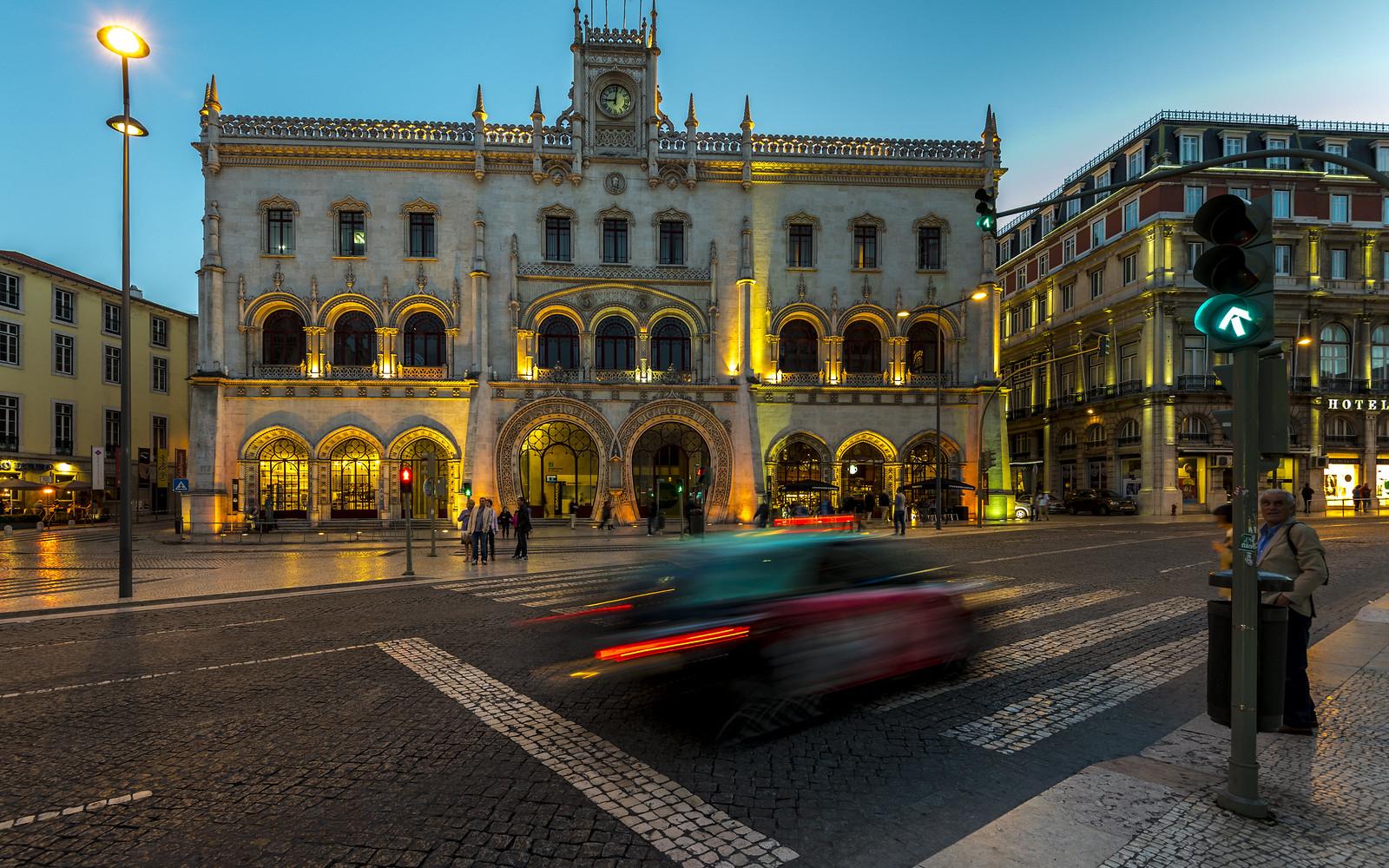 Táxis em Lisboa